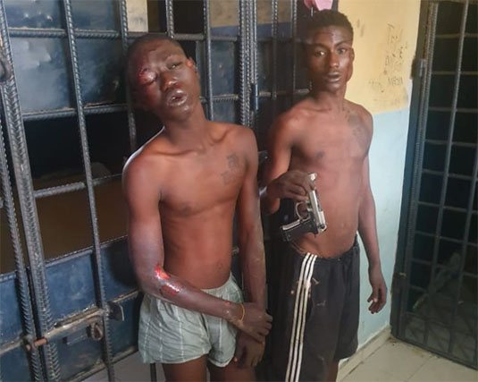 2 Robbery Suspects Gunned Down At Ashaiman