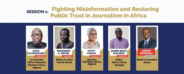Session 1 – Fighting misinformation and restoring public trust in journalism in Africa