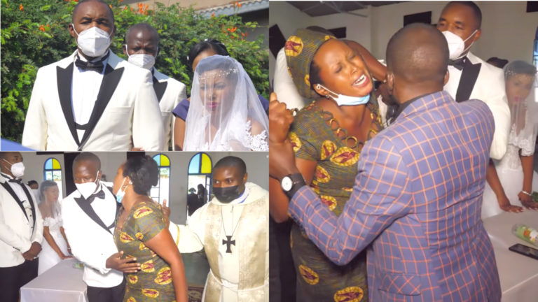 Angry wife storms husband's secret wedding with new woman; hires the media to film her as she ruins the event » ™