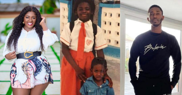 Tracey Boakye Celebrates Younger Brother's Birthday With A Heart Touching Message » ™