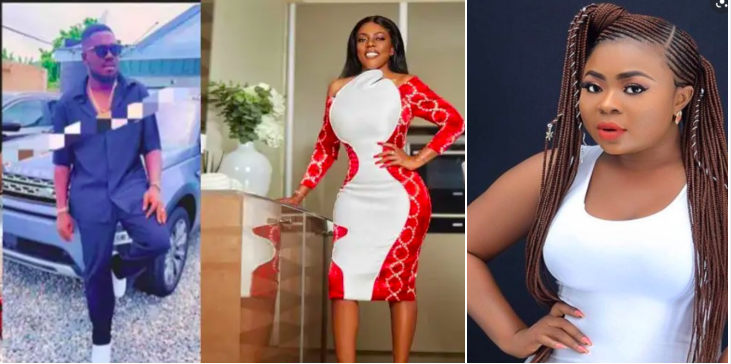 Picture of the alleged boyfriend Adu Safowaa is fighting Nana Aba over hits social media » ™