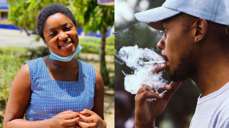Men 'attack' lady who says she will never date nor marry guys who smoke » ™