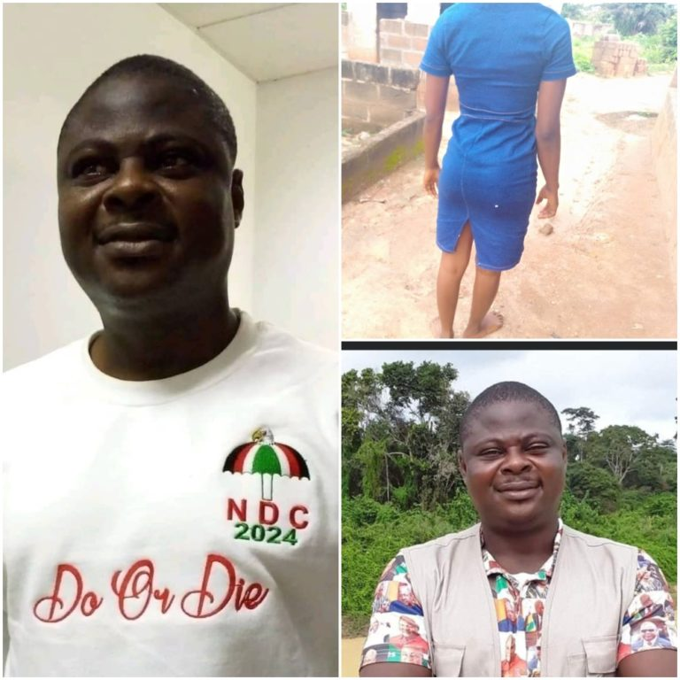 NDC official accused of incest, abortion remanded