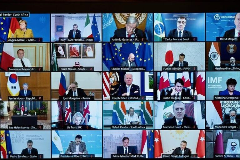 G20 vows to avert humanitarian catastrophe in Afghanistan; EU pledges $1B in aid