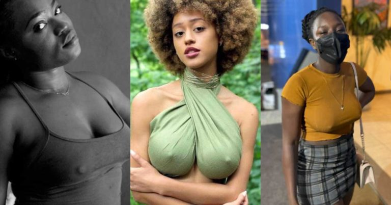 Ladies share juicy photos as they go braless to mark no bra day » ™