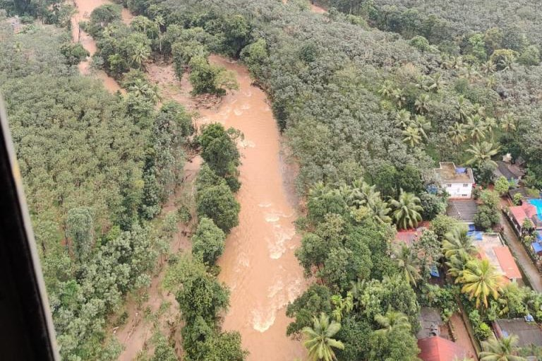 At least 22 dead after flooding in India's Kerala state