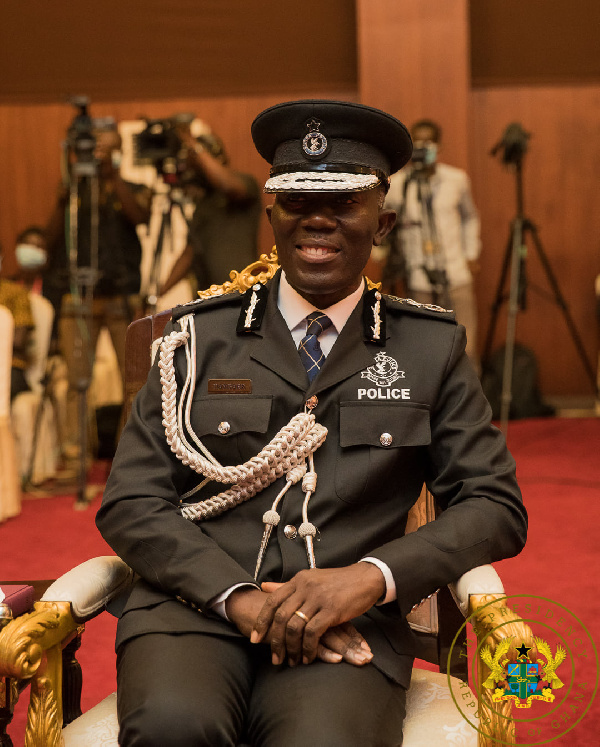 IGP saluted after Shatta Wale arrest