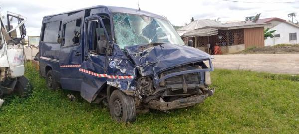 Bus kills two teenagers in accident on Abura Dunkwa road