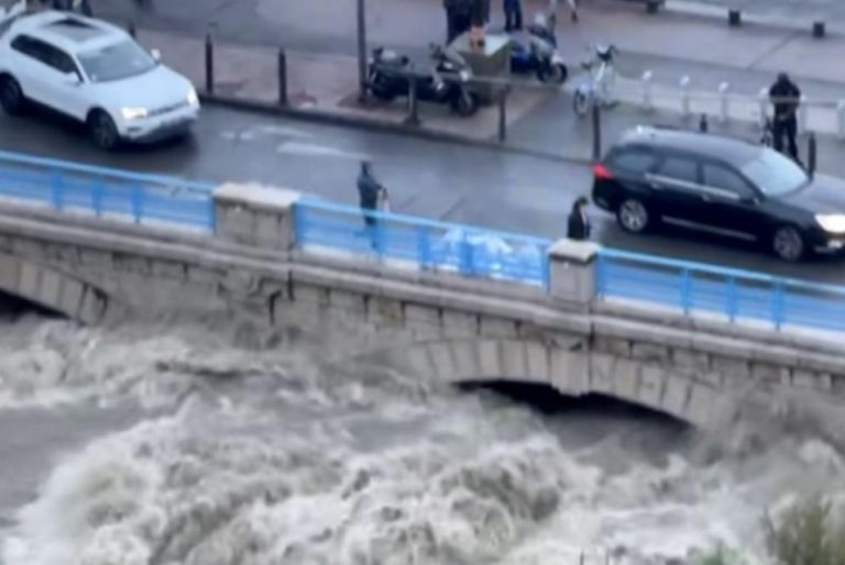 3 months' worth of rain falls over 48 hours in French city