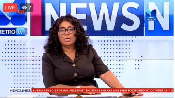 News Night on Metro TV with Bridget Otoo
