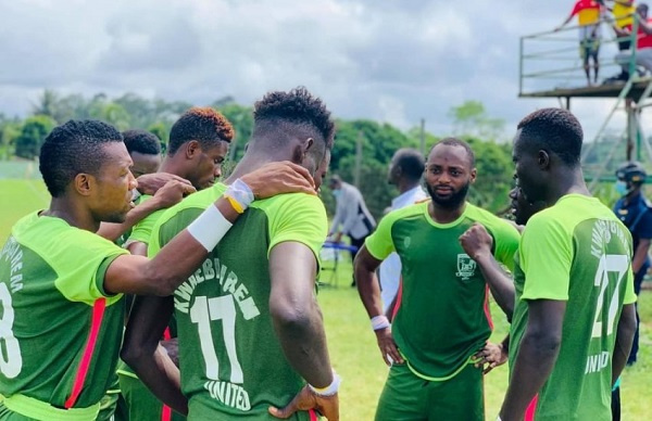 Kwaebibirem SC targets Division One qualification after beating Okwahu United
