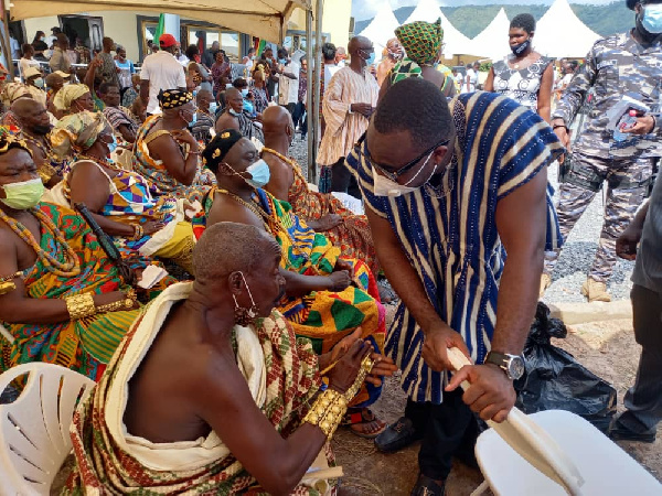 Council of State Member Atikpo delighted with creation of Guan District