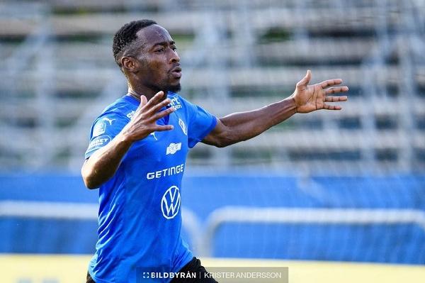 Halmstad striker Sadat Karim scores opener in draw with Ostersunds