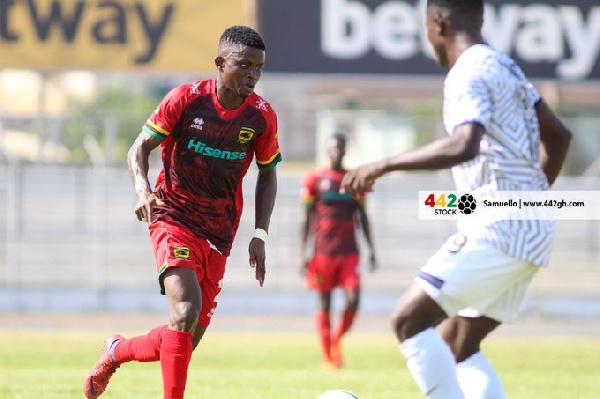 Former Kotoko midfielder Samuel Frimpong heading to Medeama