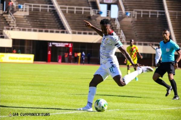 Baba Rahman reacts to Black Stars win in Zimbabwe