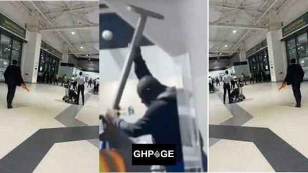 Man runs 'mad' at Kotoka International Airport moments after arriving to travel