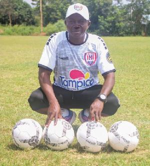 Inter Allies FC new coach, Mohammed Bashar Ogba