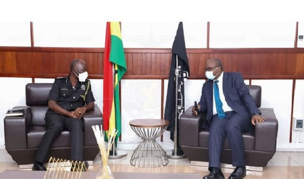 IGP meets BoG, Association of Bankers over banking sector security