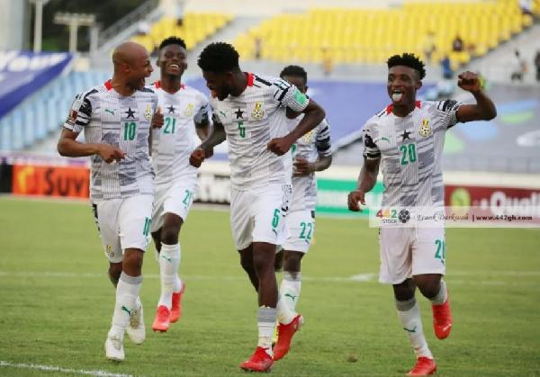 Black Stars beat Zimbabwe to go top of Group G