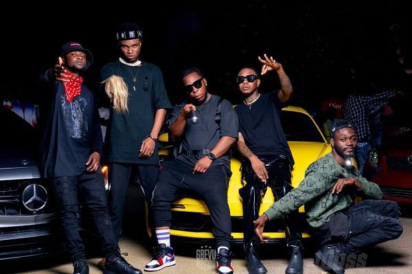 Edem recruits budding 'Gbevu Nation' rappers on new banger titled, 'Woss'