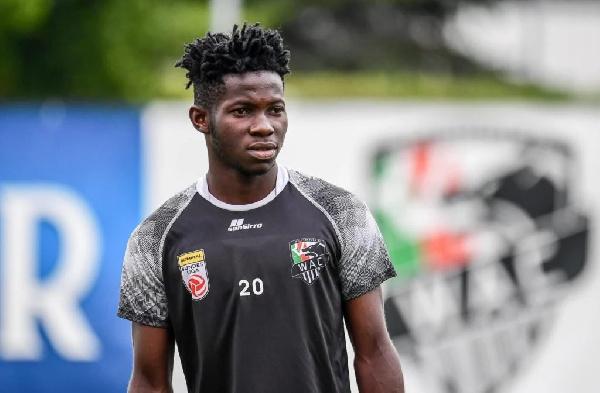 Augustine Boakye scores trademark goal for Wolfsberger II in Austrian third-tier