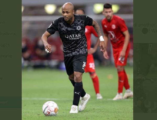 Andre Ayew scores in fifth game in a row as Al Sadd thump Al Gharafa in ten goal thriller