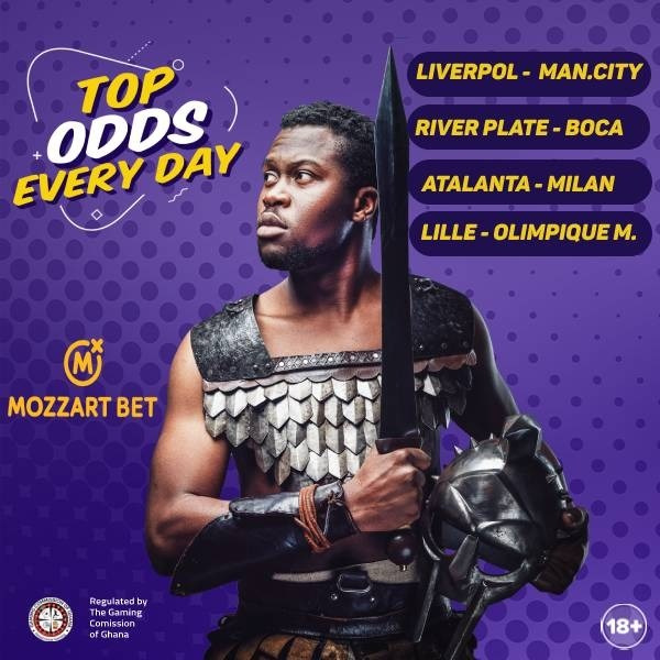 Mozzart Bet offers biggest odds in four Sunday games