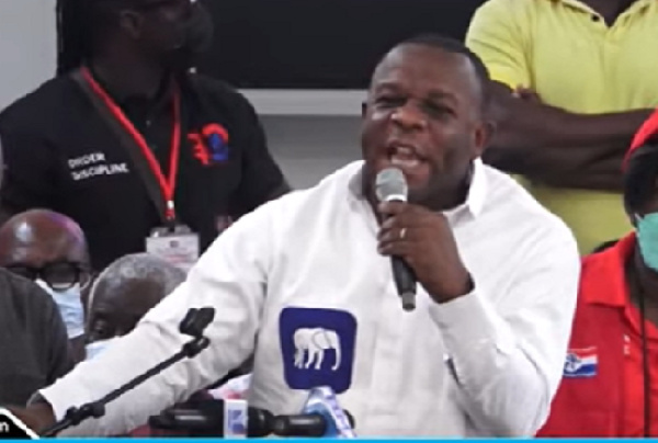 I don't care who is NPP chair or flagbearer, all I care is for power – Lord Commey