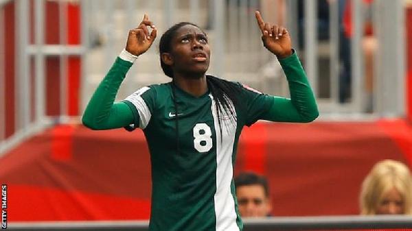 Nigeria's Oshoala talks tough ahead of Ghana clash