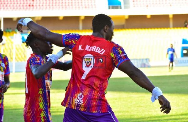 I feel more complete as a footballer now – Hearts of Oak striker Kofi Kordzi