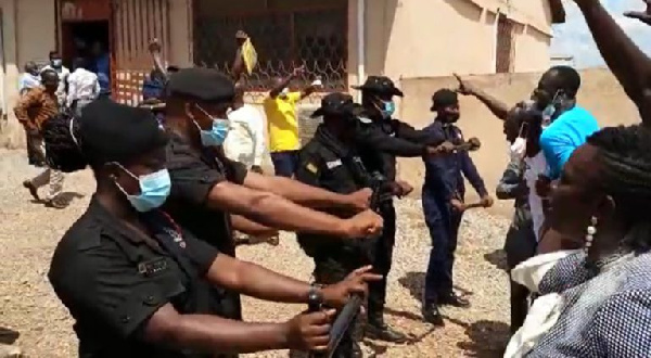Police officers allegedly beat up Achiase Assembly member over DCE confirmation