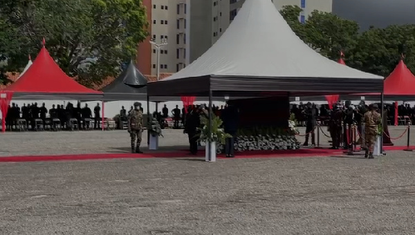 Akufo-Addo pays last respect to late Justice Marful-Sau