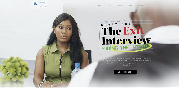 Boatsfilms launch new movie titled, 'The Exit Interview, Hiring the intern'