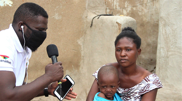 Mother of 2-year-old boy at Paga-Nania suffering from 'hole-in-heart cries for help