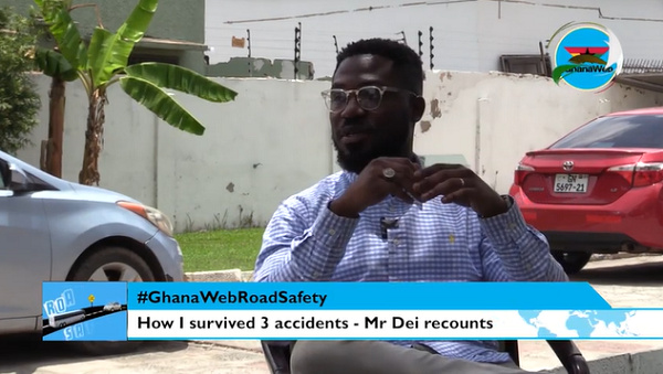 #GhanaWebRoadSafety: 3 accidents and my escape story