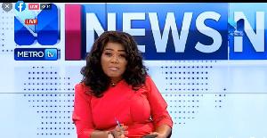 Bridget Otoo is hostess of News Night on Metro TV