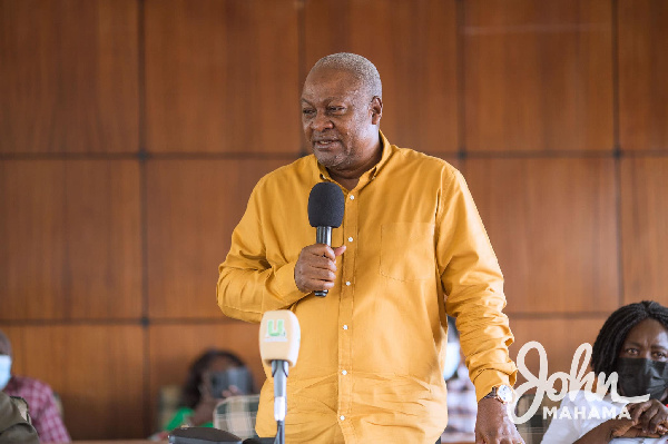 Mahama explains why there is hope for the NDC in 2024