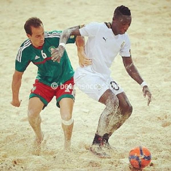 Beach soccer storm Akuapem for Odwira festival
