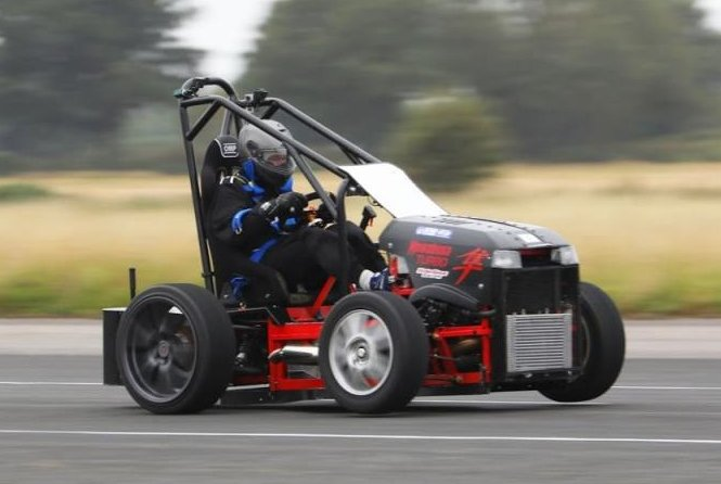 Watch: British engineer takes world's fastest lawnmower to 143.19 mph
