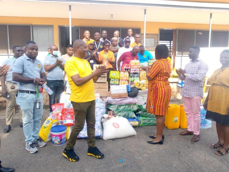 Ashanti DVLA climaxes customer service week with donation to Kumasi Children's Home