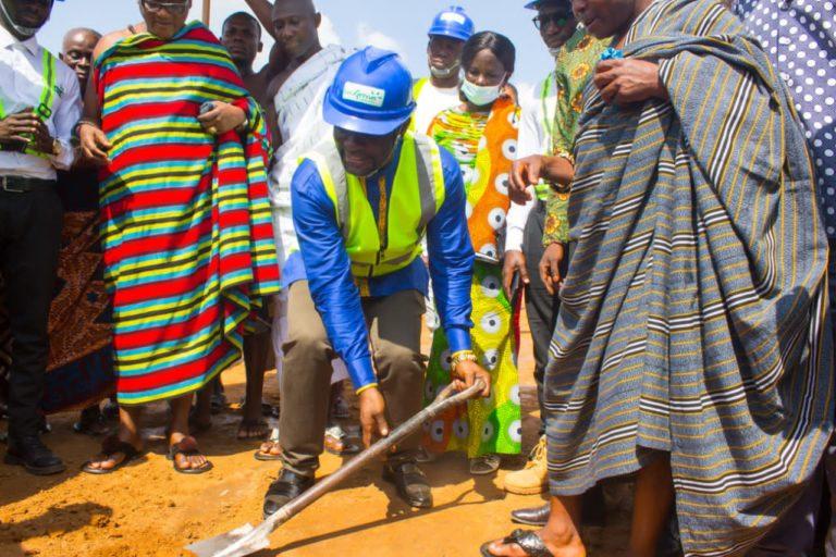 Ejisu MP spearheads construction of modern sports facilities in ten communities