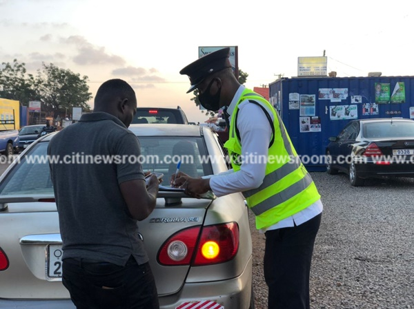 12 drivers arrested for road infractions on Frafraha-Dodowa stretch