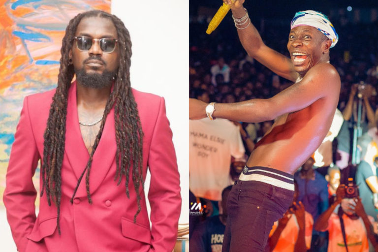 Shatta Wale Go Crack Expensive Joke But The IGP Is Not Laughing So He Is Now On The Run- Samini Jabs Shatta Over Shooting Reports