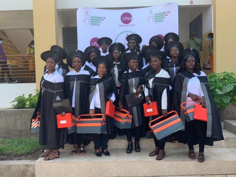 15 Ladies Get Free NEWIG-Ghana Skills Training