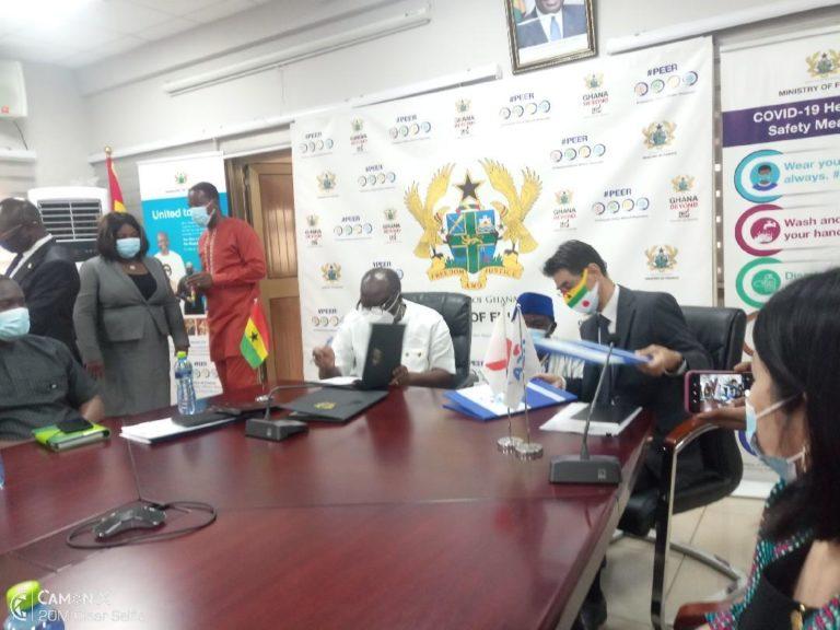 Ghana, Japan Sign Two Grants Agreements Of $36.50 Million