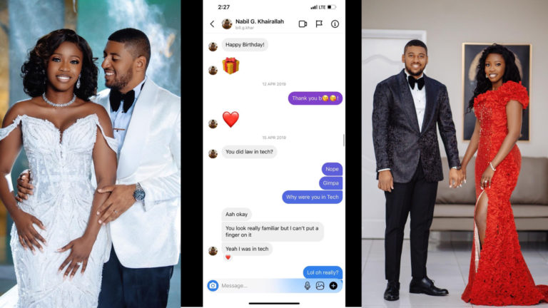 The fairytale love story of how lawyer got married to businessman she met randomly on IG » ™