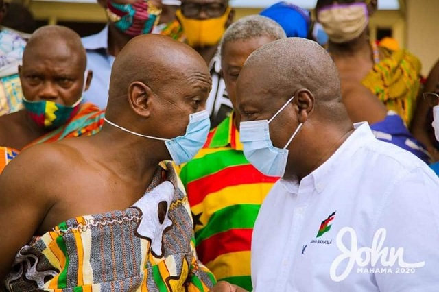 Mahama Indicts House of Chiefs; Says House Has Lost Its Voice after Afede's Tenure