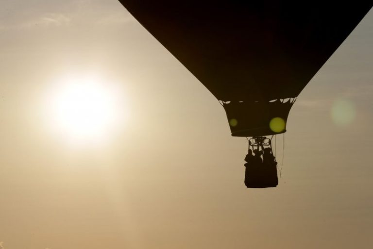 Man dies after falling from hot air balloon in northern Israel
