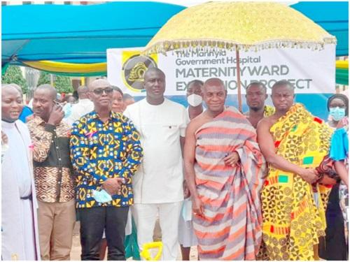 JOBerg, Otumfuo Foundations Rescue Govt Hospital