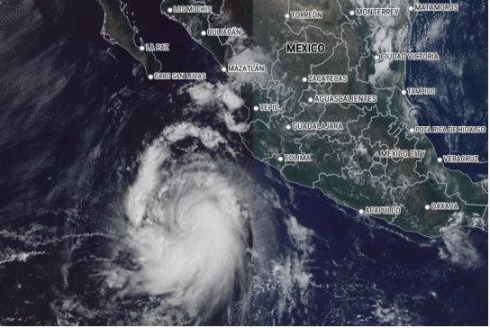 Pamela to blast Mexico as a major hurricane before eyeing Texas